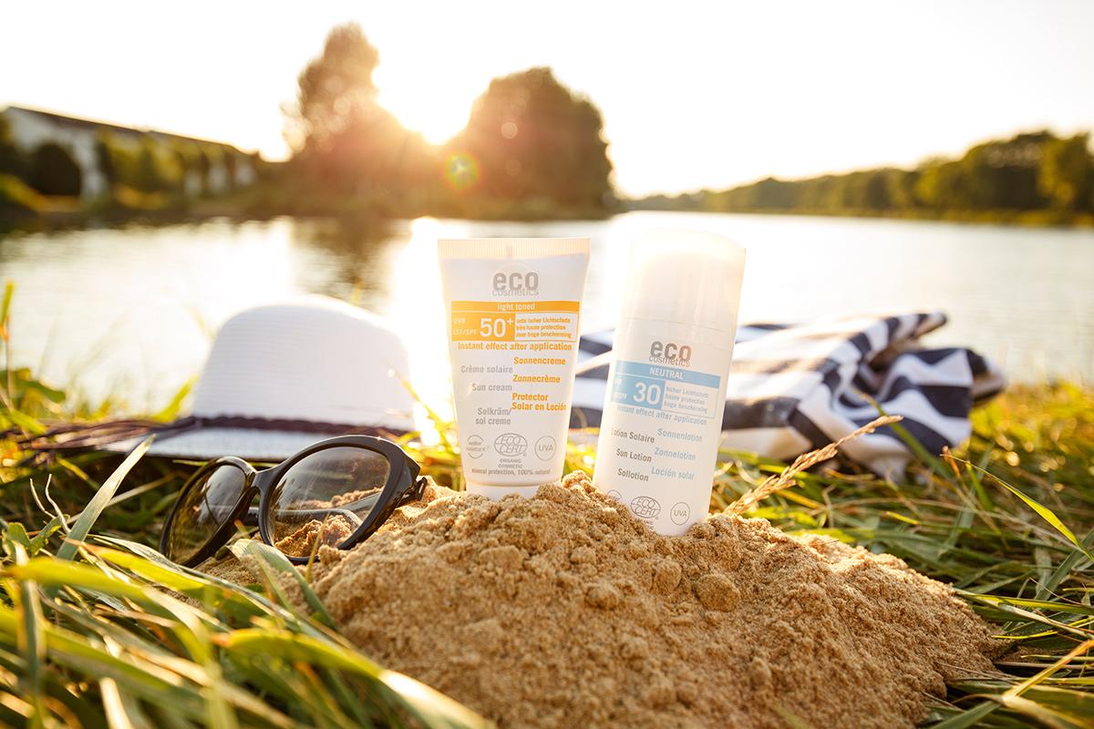 Bild mineralischer Sonnenschutz, Eco Cosmetics, Lichtschutzfaktor, Sonnencreme, Sonnenschutz im Winter, Blog, Shades of Ivory