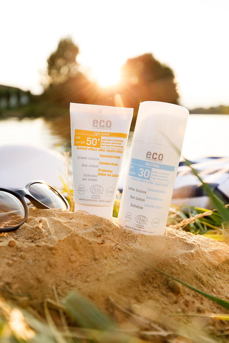 Bild mineralischer Sonnenschutz, Sonnenschutzmittel, Eco Cosmetics, Lichtschutzfaktor, Sonnencreme, Sonnenschutz im Winter, Blog, Shades of Ivory