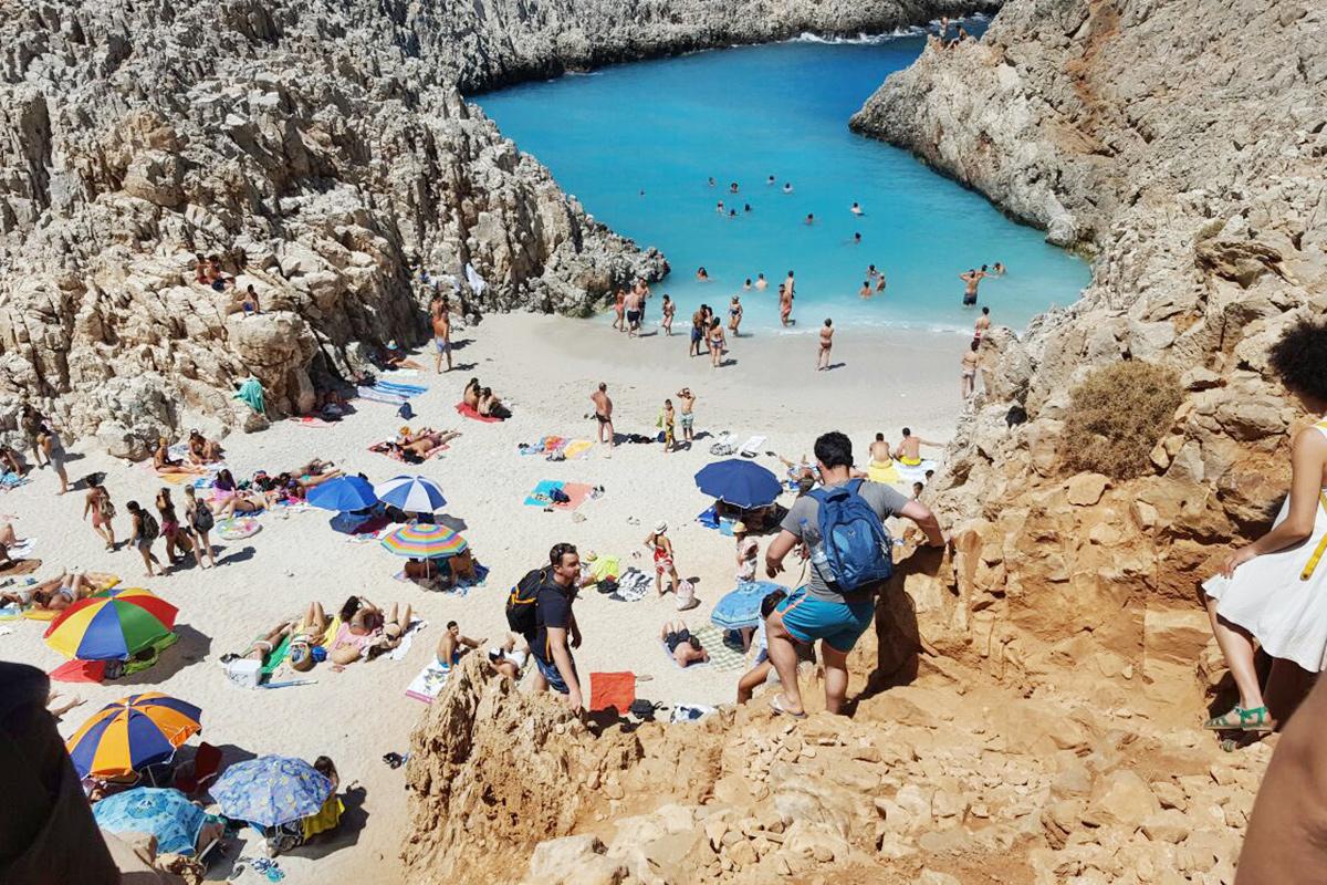 Bild: Kreta, Seitan Limania Beach, Stefanou Beach, Chania, Travel, Reisen, Reiseblogger, Berlin, Urlaubstipps, Geheimtipps, Griechenland, schönsten Urlaubserinnerungen