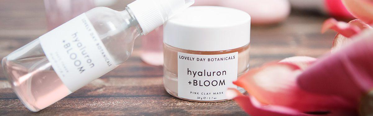 PHA- Hyaluron + BLOOM Face Toner von Lovely Day Botanicals