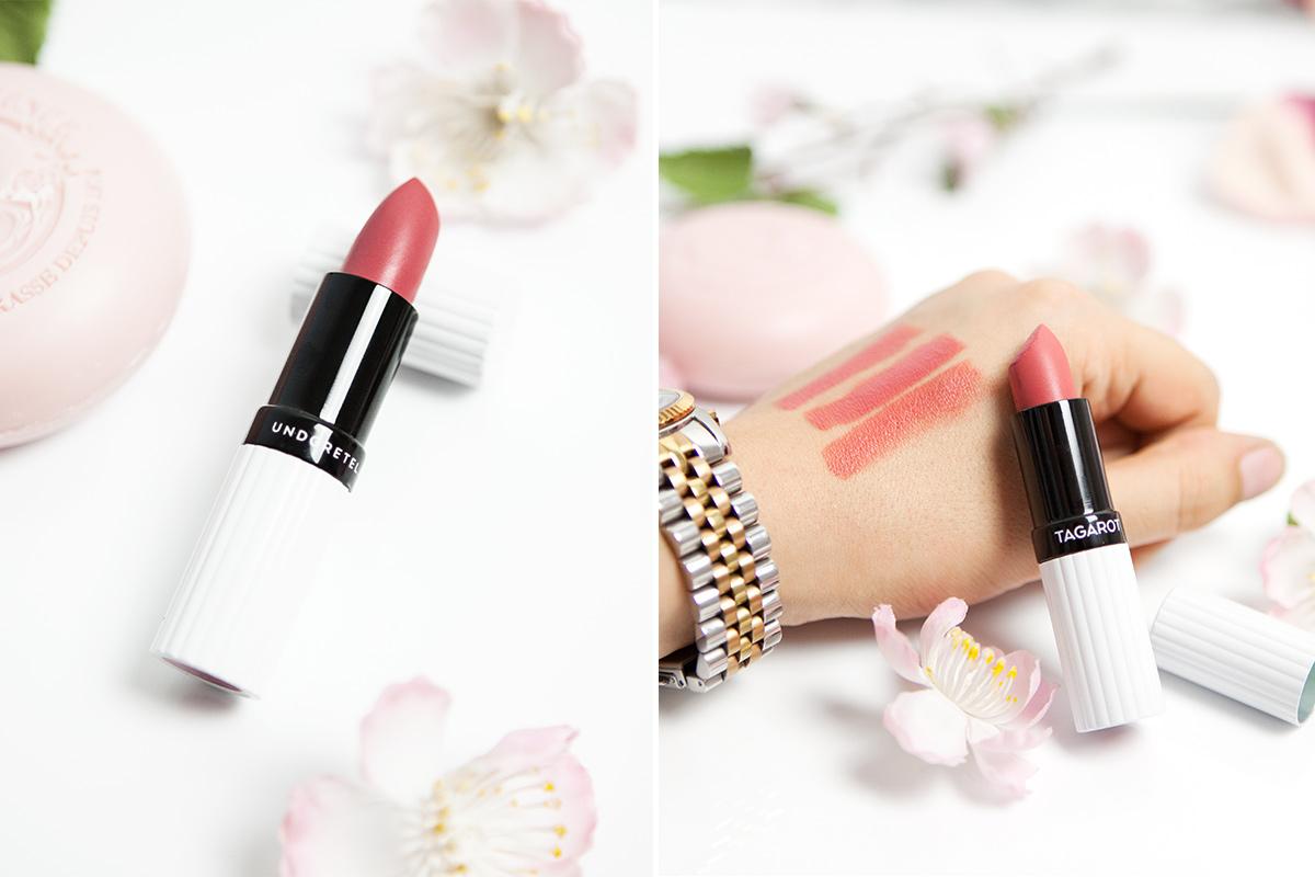 Bild Lippenstift, Naturkosmetik, Und Gretel, Targarot, Nature, Beauty, Kosmetik, Make Up, Knuutzen, Beautyblog, Blog, Shades of Ivory