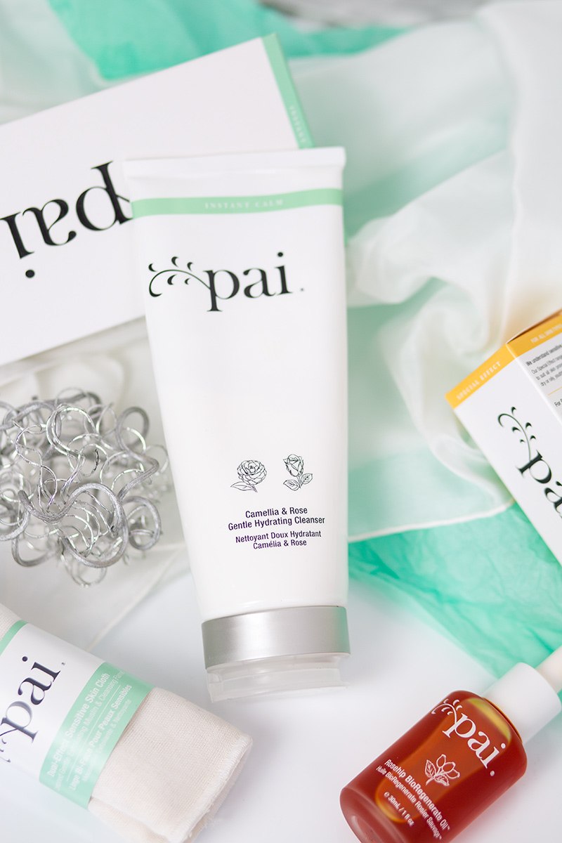 Bild: Pai Skincare, Naturkosmetik, Rosehip Oil, Camelia rose gentle hydrating cleanser, beauty, beautyblog, Shades of Ivory