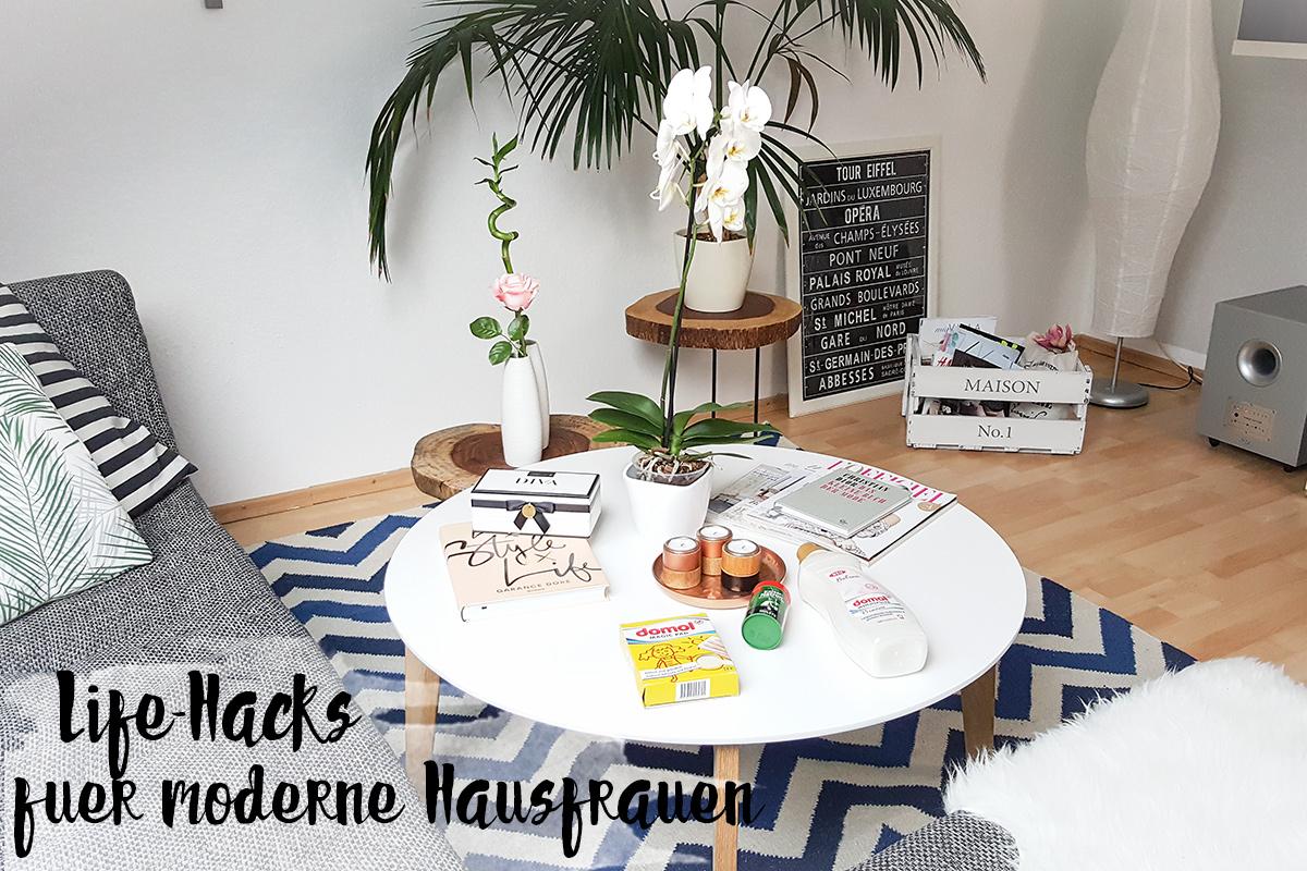 9 life hacks f r die moderne hausfrau shades of ivory. Black Bedroom Furniture Sets. Home Design Ideas