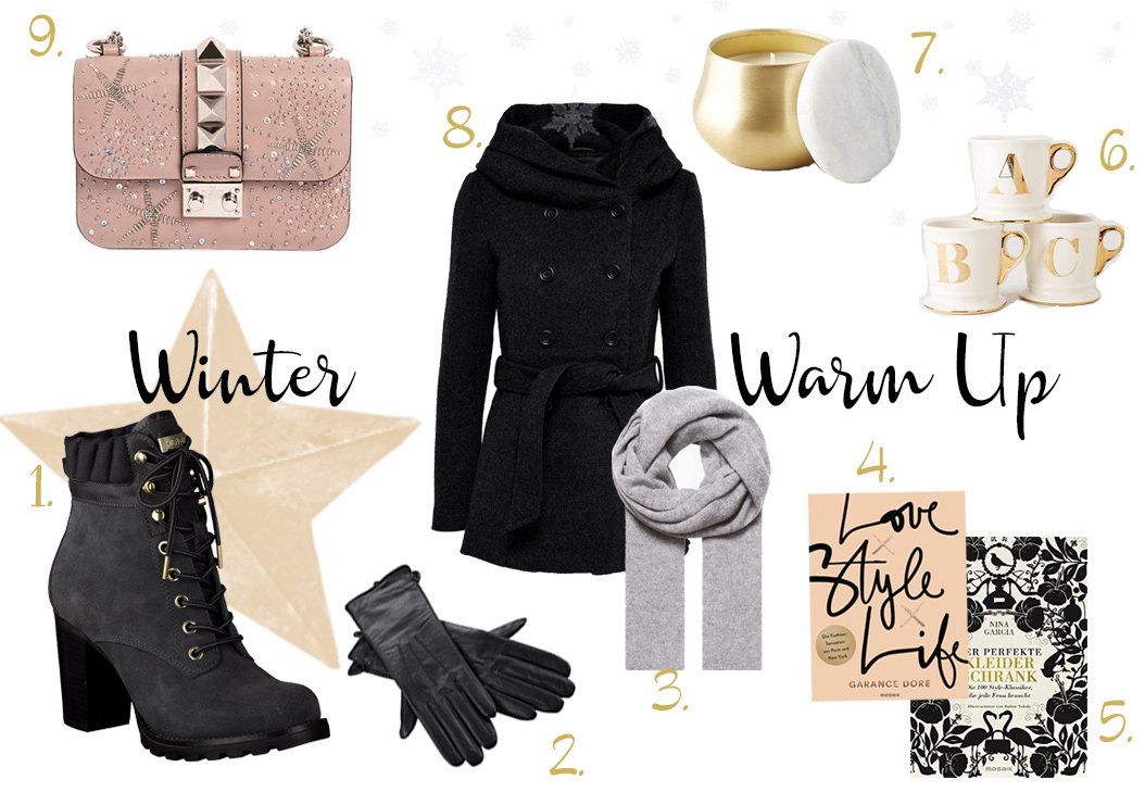Bild: Winter Warm Up, Collage, Wishlist, Winter, Blog
