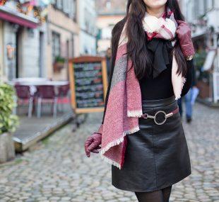 Outfit in La Petite France, Straßburg