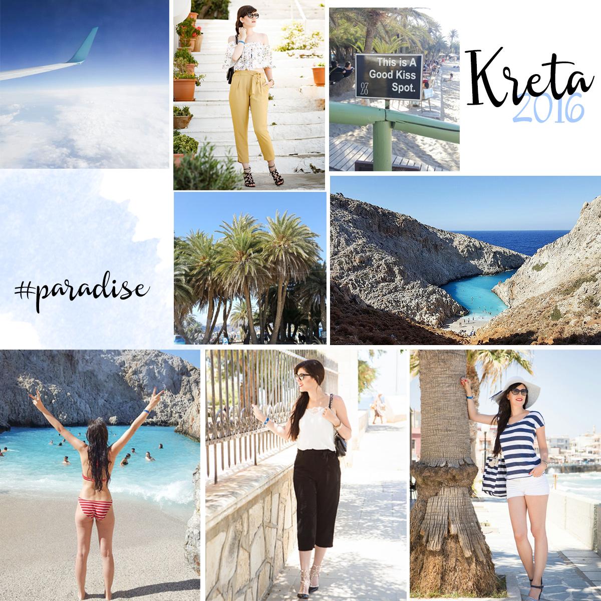 Bild: Kreta, Griechenland, Greece, Seitan Limania, Chania, Outfit, Strapse, Beach, Jahresrückblick
