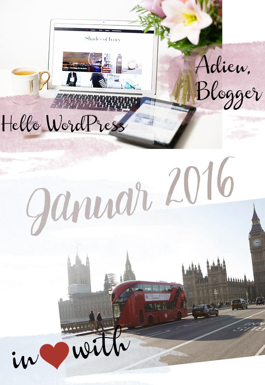 Bild: Jahresrückblick, London, WordPress, Blogger