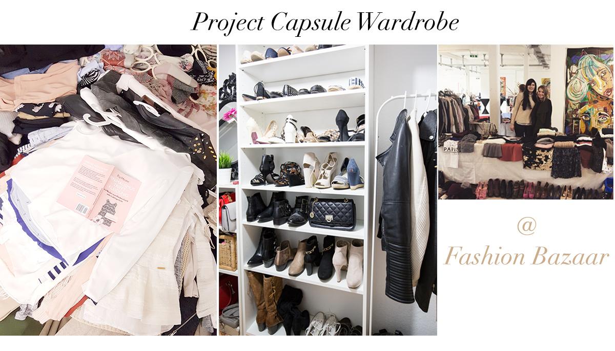 Bild: Minimalismus im Kleiderschrank, Capsule Wardrobe, Ausmisten, Mode, Fashion, Kleidung