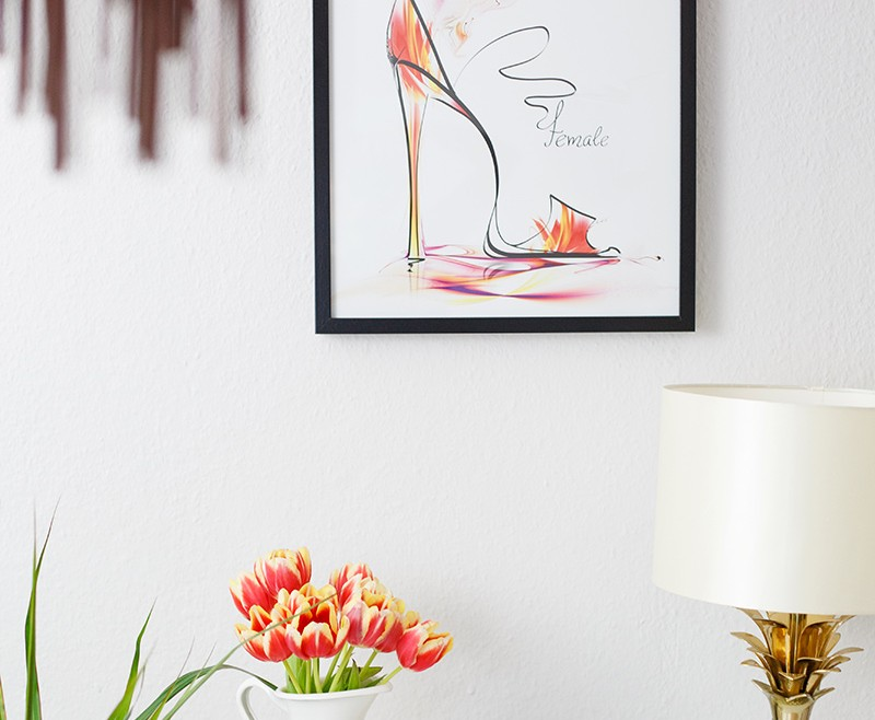Spring wohnung interior tulpen shades of ivory for Wohnung interior