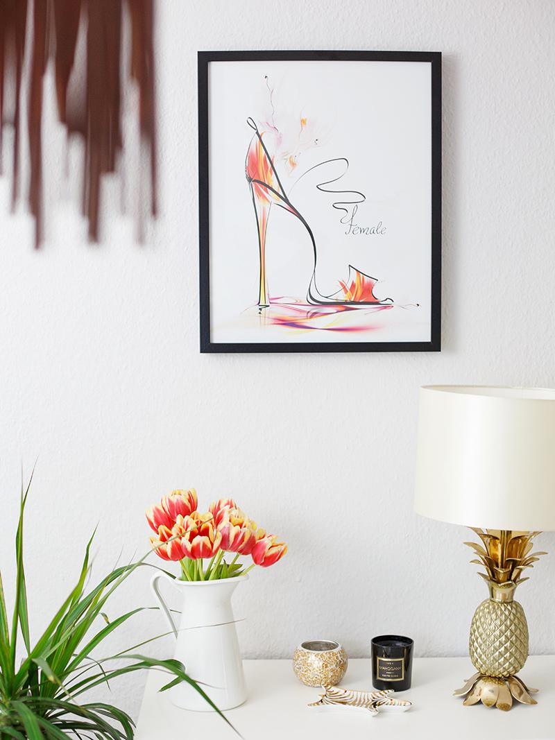 Bild: Interior, Frühling, Spring, Tulpen, Wohnung