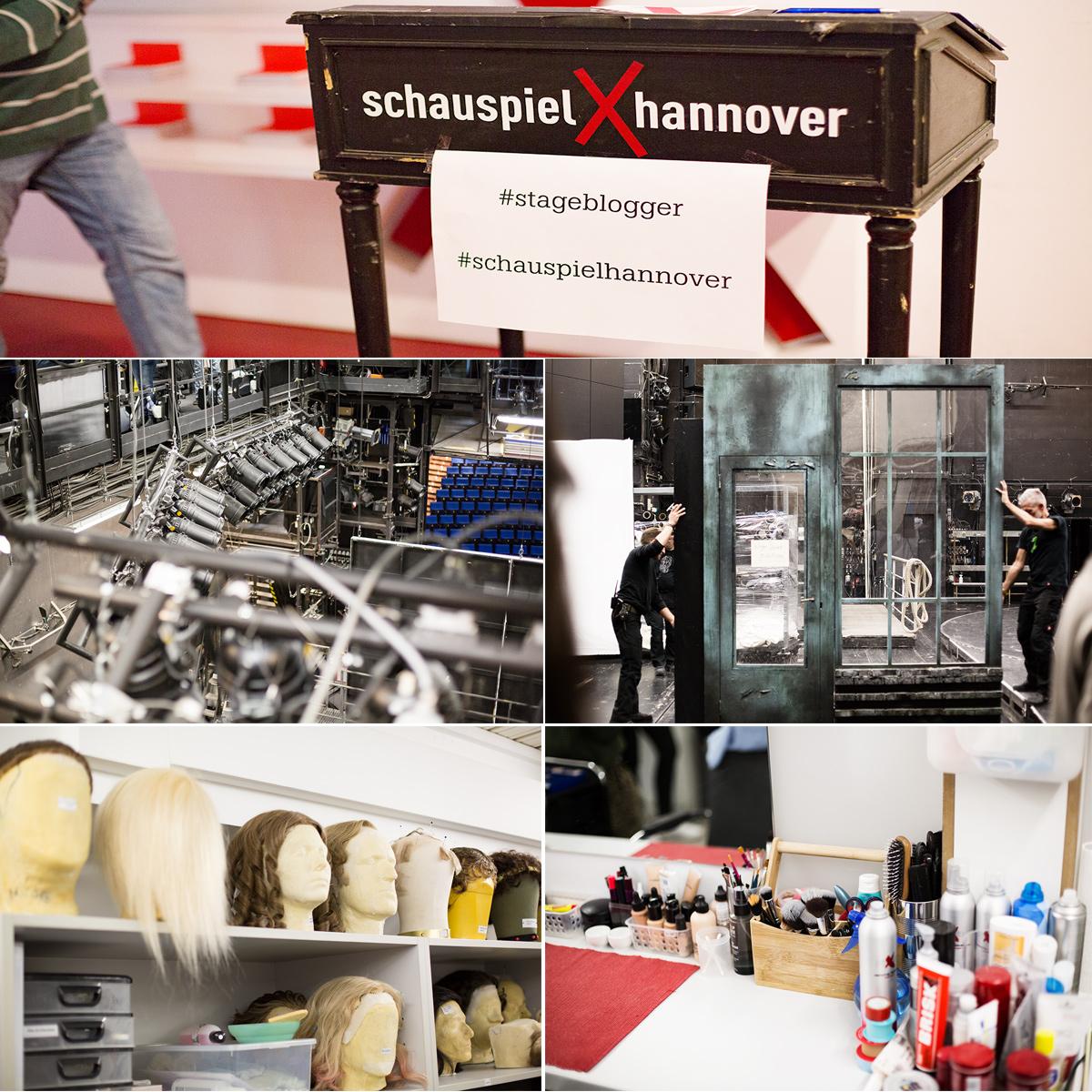 Bild: Schauspielhaus, Hannover, Theater, Maske, Hinter den Kulissen, Bloggerevent