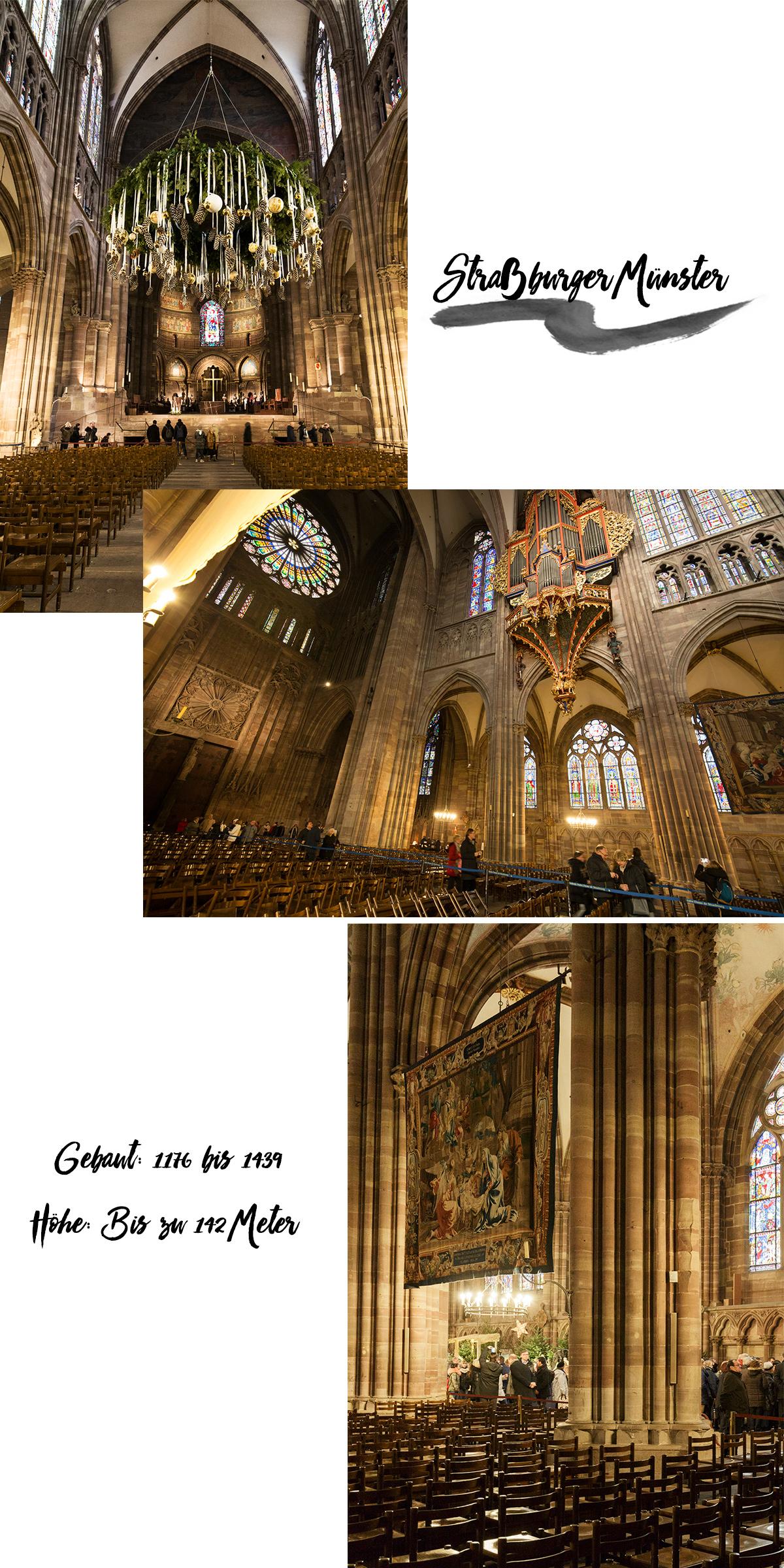 Bild: Staßburger Münster, Liebfrauenmünster, Cathedrale Notre Dame de Strasbourg, France, Frankreich, Blogger, Reisebericht