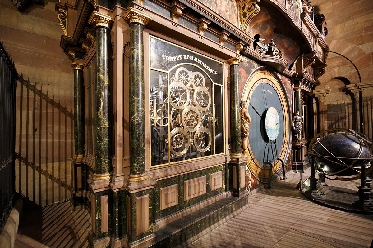 Bild: Staßburger Münster, Liebfrauenmünster, Cathedrale Notre Dame de Strasbourg, France, Frankreich, Blogger, Reisebericht, astronomische Uhr