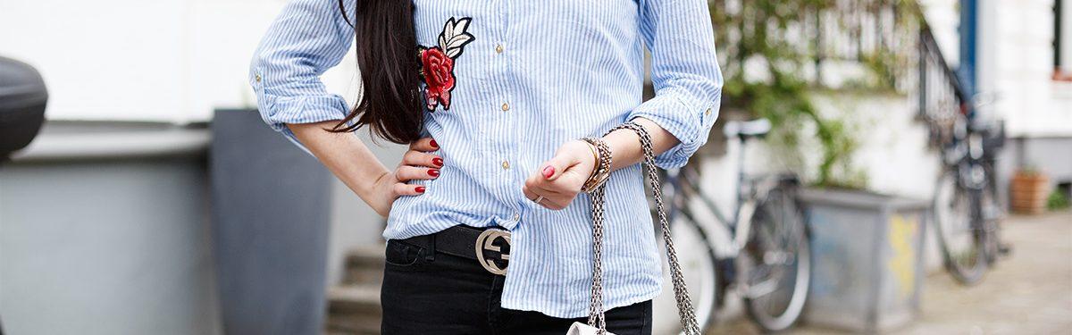 Outfit: Patches, Chanel und Nieten Ballerinas