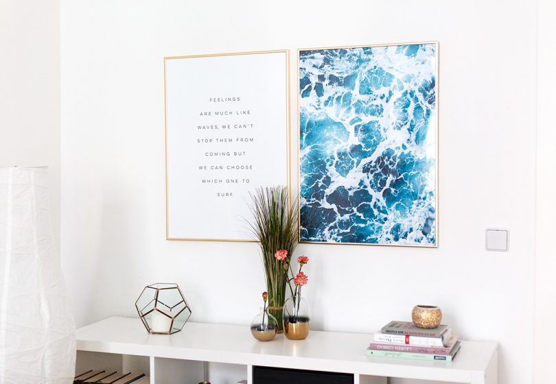 Interior: Decorate with scandinavian posters from Desenio