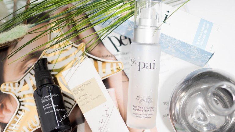 strahlende Haut mit Pai Skincare & Kahina Giving Beauty #organic
