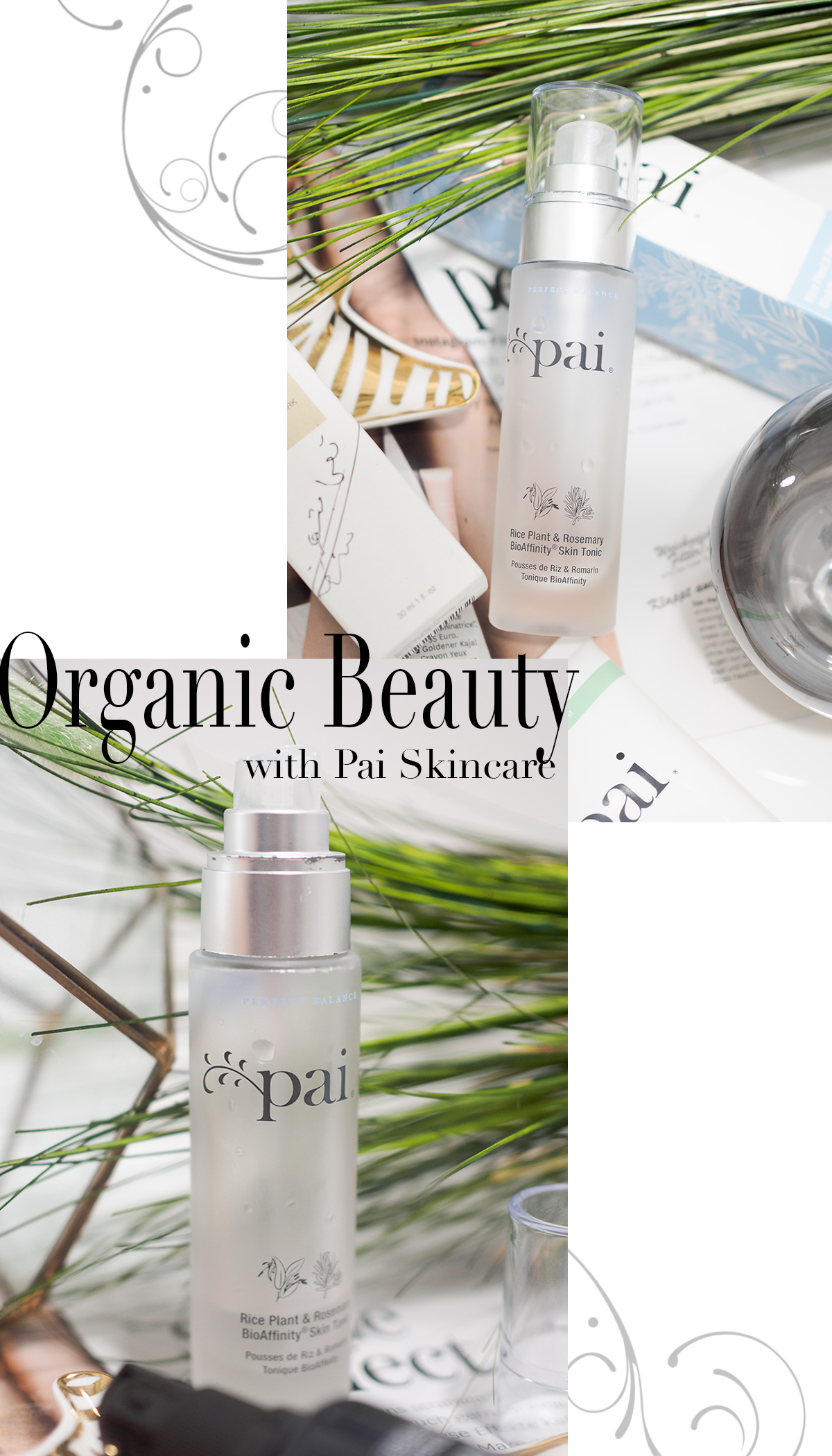 Bild: Skincare, Beauty, Pai Skincare,RICE PLANT & ROSEMARY BIOAFFINITY TONIC, Organic, Natural, Naturkosmetik, Blog, Berlin, Jane von Shades of Ivory