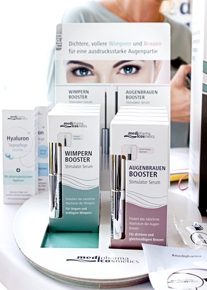 Bild: Köln, Beautypress, Beautyblogger, Medipharma Wimpern, Beauty, Shades of Ivory