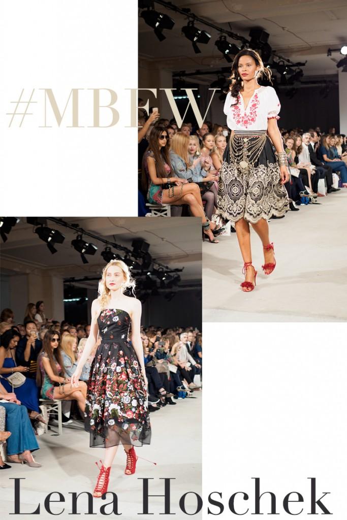 Bild: MBFW, Lena Hoschek, Fashionshow, Runway, Berlin, Modewoche, Shades of Ivory, Blog