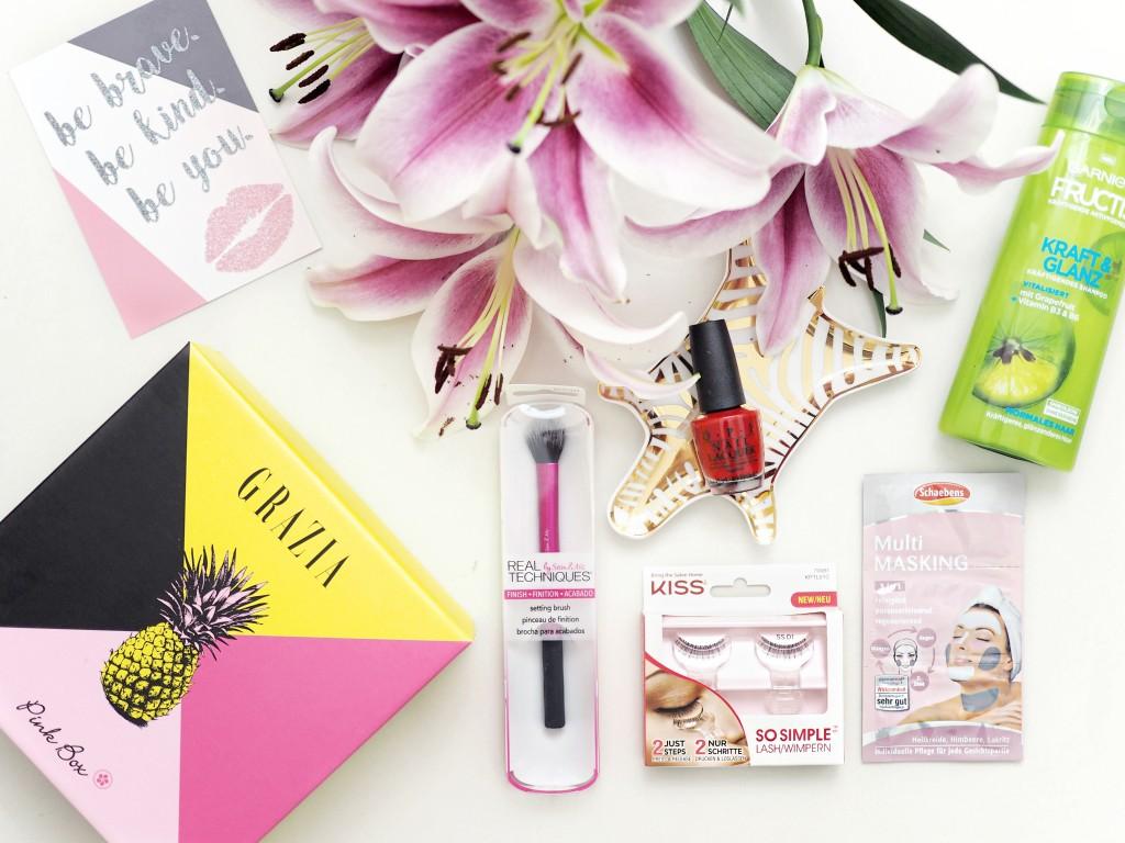 Bild: Pink Box, Grazia, Beautybox,