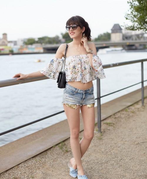 3 Ways To Wear: Die Off-Shoulder Bluse von Zara-  #1 Summer Vibes