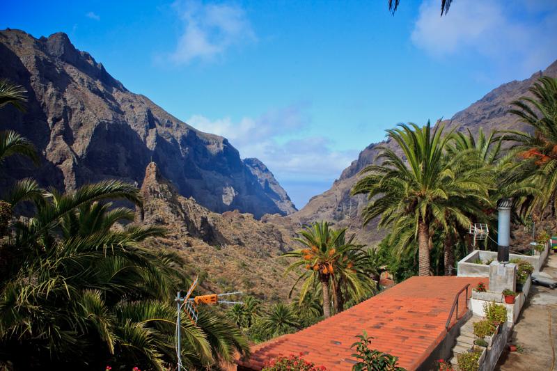 Bild: Teneriffa, Spanien, Schlucht von Masca, Masca, Reisebericht, schönsten Urlaubserinnerungen