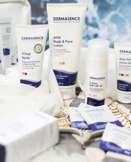 Bild: Gewinnspiel, Dermasence, Beauty, Hautpflege, Kosmetik, AHA Body & Face Dermasence Cream Soft,