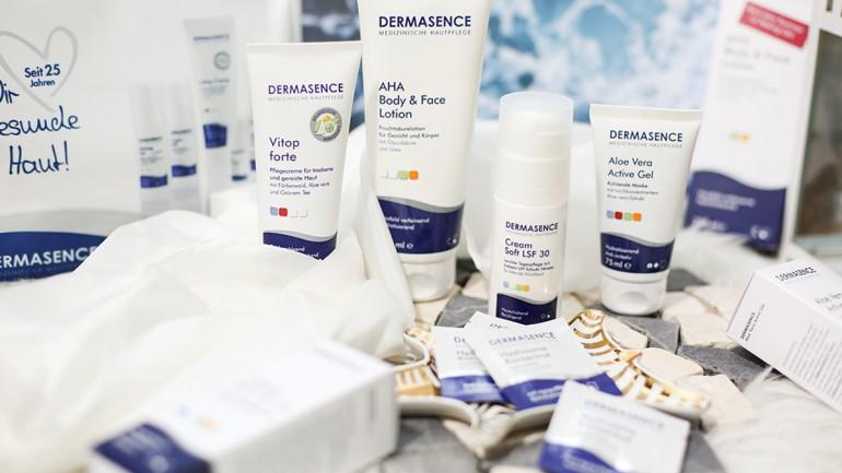 Hautpflege mit Dermasence und Gewinnspiel