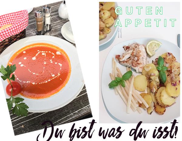 Bild: Ernährung, gesunde Ernährung, Tomatensuppe, Du bist was du isst, Glutenfrei, Veggie, Vegan, Darmsanierung