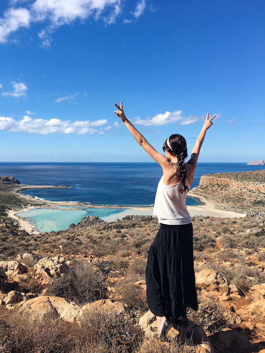 Bild: Kreta, Urlaub, Kreta Reisebericht, Balos Beach, pinker Strand, Lagune, Karibik Feeling Kreta, Griechenland, Berge, Felsen, Beach, Strand, Traumstrände, Crete, Blogger, Shades of Ivory, Travel, Berlin Blogger,
