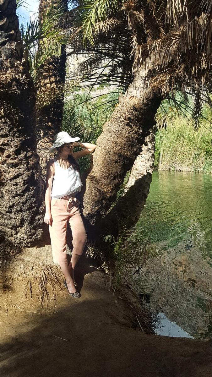 Bild: Kreta, Urlaub, Kreta Reisebericht, Preveli Beach, Dschungel Feeling Kreta, Griechenland, Crete, Blogger, Shades of Ivory, Travel, Berlin Blogger,