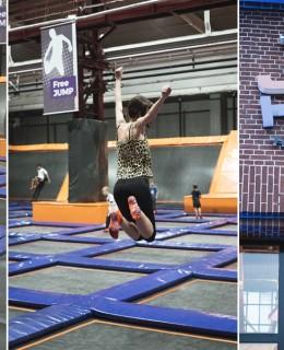 Bild: Jumphouse, Berlin, Trampolin Park, springen, Sport, Fitness, Blogger Berlin, Blogger,