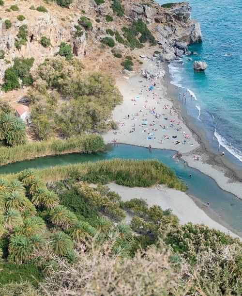 Preveli Beach – Der Palmenstrand auf Kreta