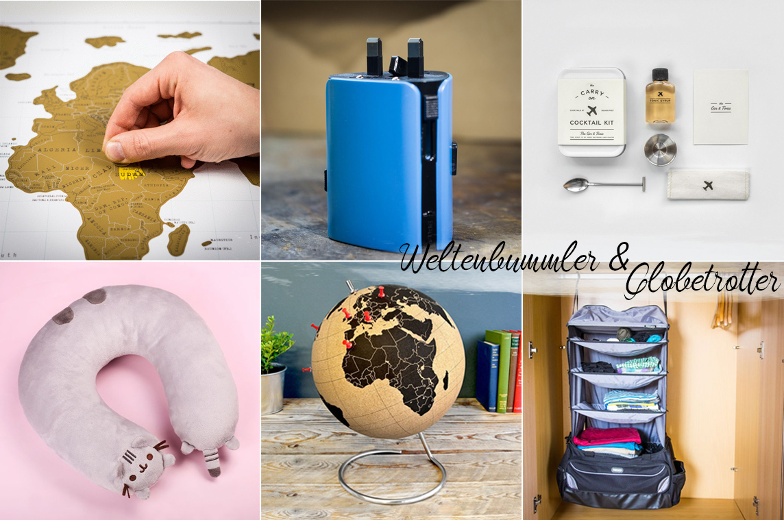 Bild: Geschenke, Inspiration, Weihnachtsgeschenke, Weltenbummler, Globetrotter, Inspiration, Blogger, Berlin