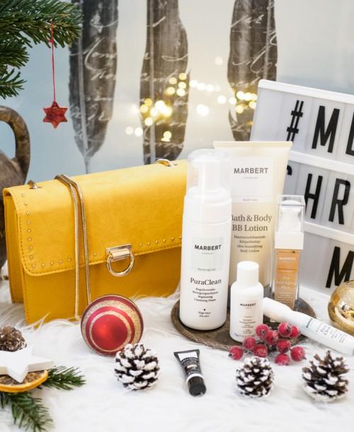 Adventsverlosung: Gewinne eine Tasche und Beautyprodukte von Marbert