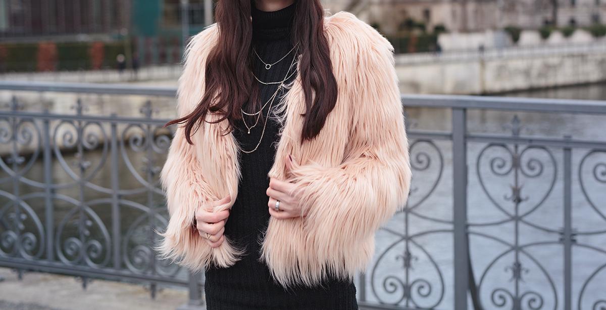 Bild: Outfit, Fake Fur, Felljacken, Kunstfell, Faux Fur, Kunstpelz, Outfit, Style, Blogger, Modeblog, Fashionblog, Ootd, Gucci, Chloe Lookalike, Berlin Blogger, Berlin,