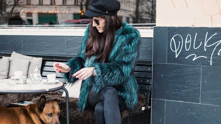 3 ways to wear: Fake Fur
