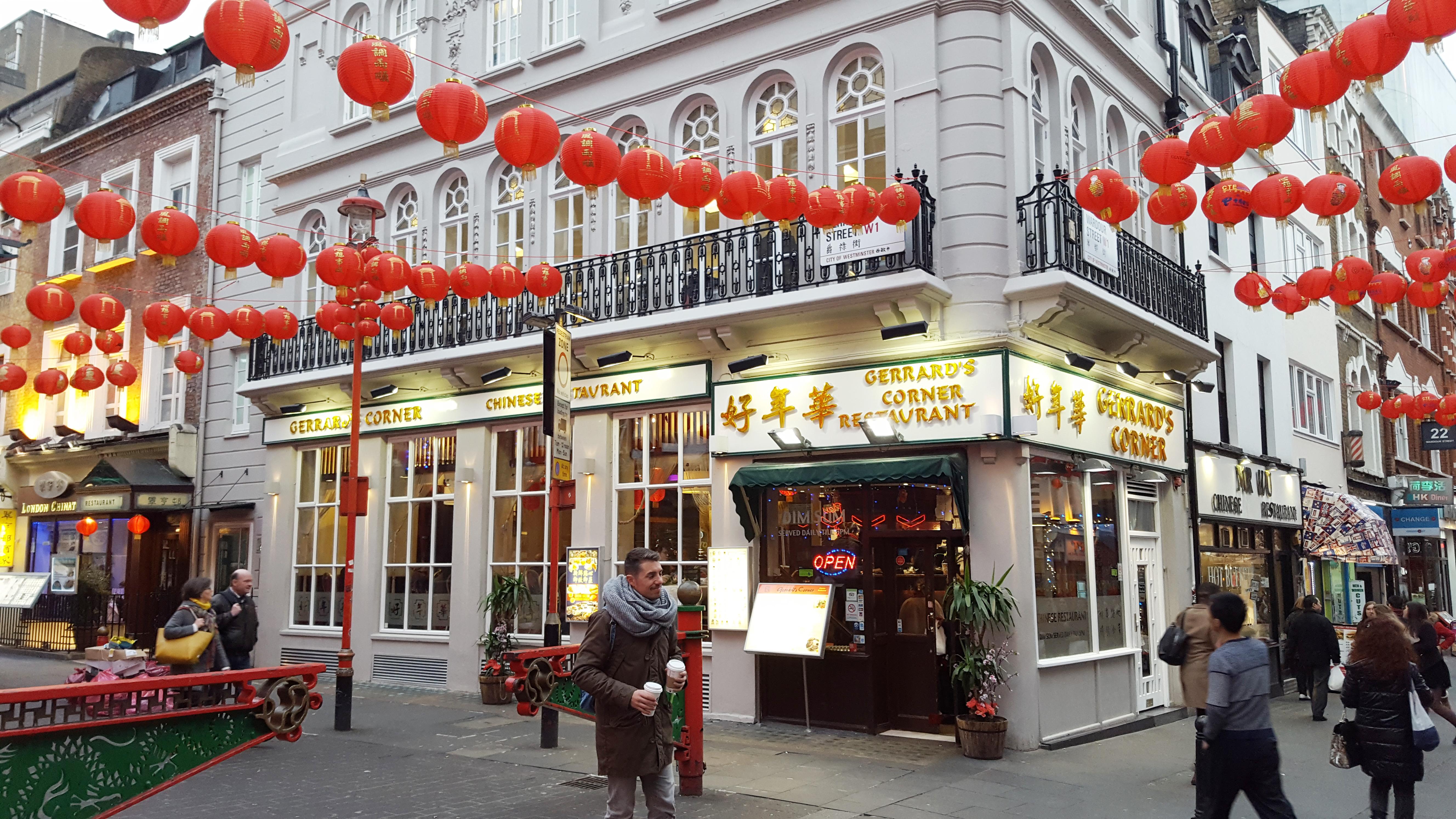 Essen in London - Restaurants, Bakerys und China Town