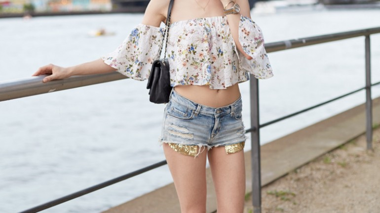 3 Ways To Wear: Die Off-Shoulder Bluse von Zara-  #1 Summer Vibes
