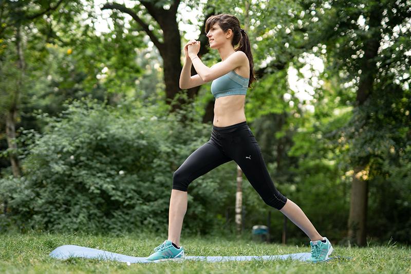 Bild: Sport, Fitness, Übungen, Workout, Bodyweight, Blogger, Berlin, Berlin Blogger, Ausfallschritt,