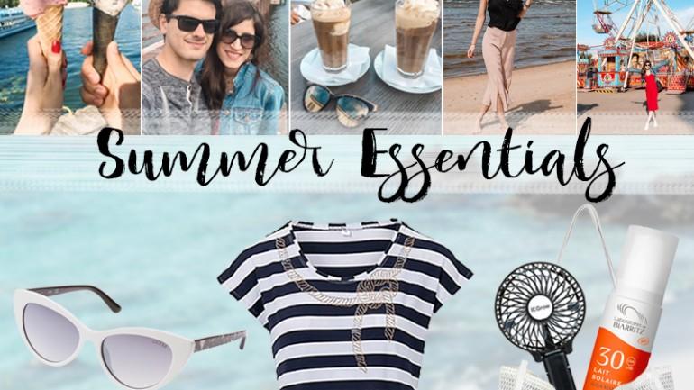Summer Essentials – Was ich im Sommer wirklich brauche
