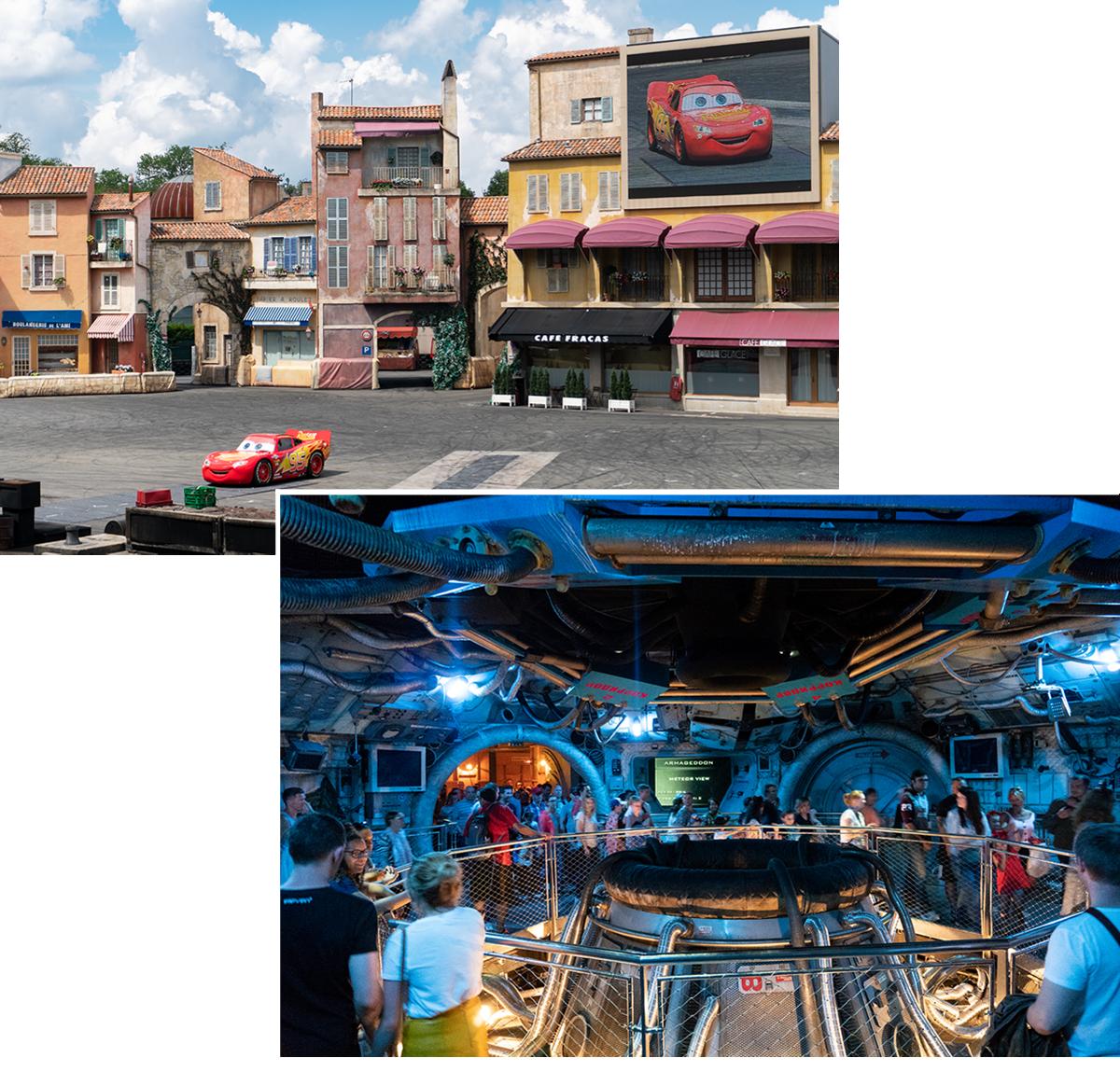 Bild: Armageddon, Disneyland Paris, Erwachsener ins Disneyland Paris, Moteurs Action, Disneyland,