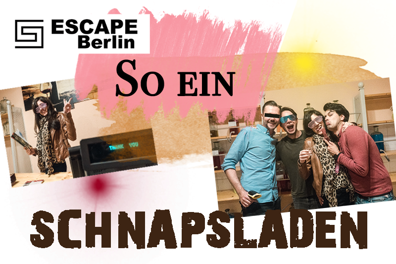 Bild: Escape Game, Exit Game, Live Escape Game, Berlin, Big Päng, Schnapsladen, Dedektiv Spiel, Rätselspiel, Erfahrung, Blogger, Berlin, Wochenende Tip, Freizeitbeschäftigung, Erlebnis, Shades of Ivory