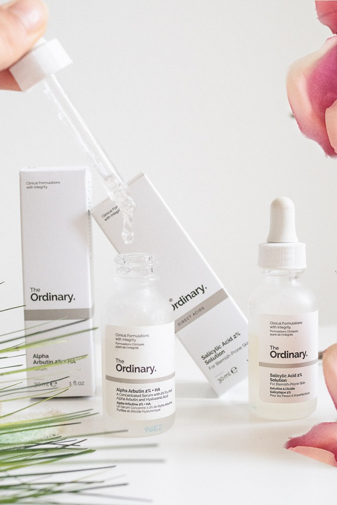 Bild: The Ordinary, Alpha Arbutin, Beauty, BHA, Salicylsäure 2%, Salicyl Acid, Beautyblogger, Berlin, Pickelmale, Akne, Narben,